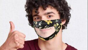Des malentendants heureux de l'arrivée des masques transparents